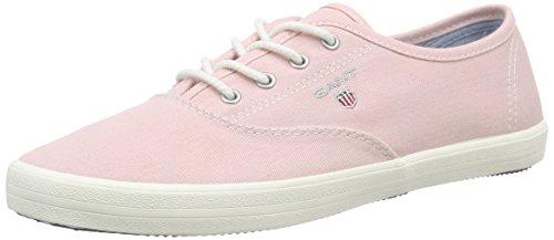 Gant New Haven, Baskets Basses femme Rose - Pink (seashell pink G57)