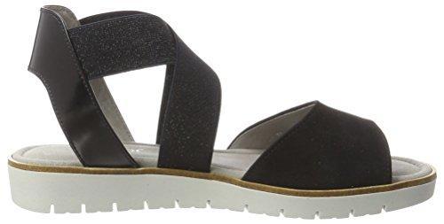 Gabor Damen Fashion Offene Sandalen mit Keilabsatz Blau (pazifik/ocean 16)