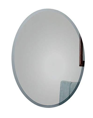 Espejo de baño Ovalado Elegante con diseño Inteligente