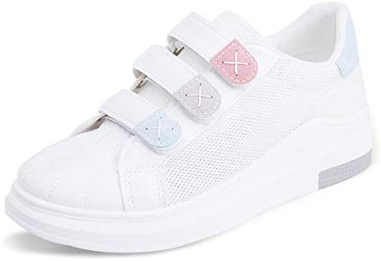 GUNAINDMX Scarpe da da da ginnastica Scarpe da donna bianche con plateau Scarpe moda con zeppe traspiranti Scarpe da...   Menu elegante e robusto    Sig/Sig Ra Scarpa  b5cf74