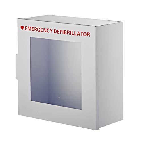 AdirMed Non-alarmed Stahl Aktenschrank Defibrillatoren 38,1cm W x 38,1cm H x 17,8cm-Standard Wand montiert Gehäuse-Leichter Zugang Speicher für Notfall Situation für Home & Office