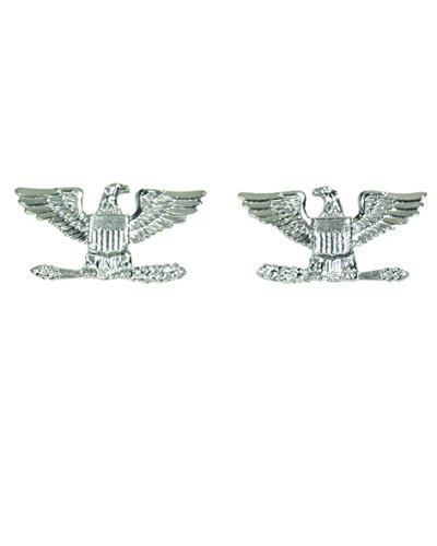 Mil-Tec US Army Rangabzeichen Metall verschiedene Ausführungen Collar Badges (Colonel)