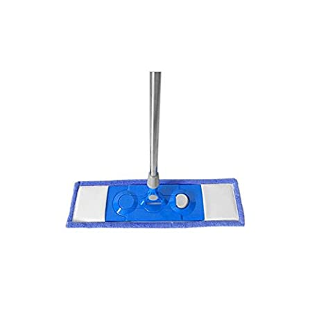 Große Mop Flat Plate 55cm Holzboden Rotary Fabric Set Stil Handlose Waschen Tuch Edelstahl Trailer Sweeper Machine (Geschlossenen Trailer)
