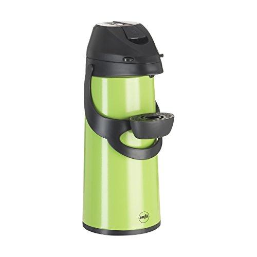 emsa eleganza Emsa Pronto Pump-Isolierkanne, 1.9 L Hellgrün, Teekanne, Kaffeekanne, Thermoskanne, 509036