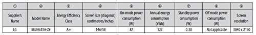 LG 58UH635V 146 cm (58 Zoll) Fernseher (Ultra HD, Triple Tuner, Smart TV) - 3