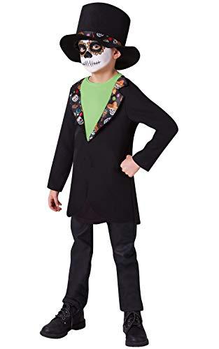 Rubies - Disfraz oficial del Día de los Muertos de Halloween para niños