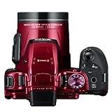 Nikon Coolpix B700 Digital Camera (Red) + 16GB Memory Card + Camera Case + HDMI Cable (Red)