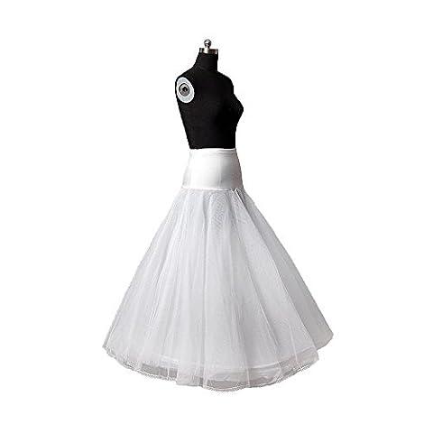 Aprilbridal 1 Hoop A Line Bone Petticoats For Wedding Accessories