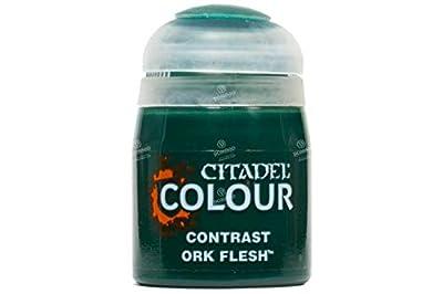 Games Workshop Citadel Pot de Peinture - Contrast Ork Flesh (18ml)