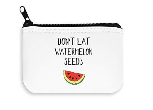 Don't Eat Wassermelonensamen, für Kinder, Schwangere mit Reißverschluss