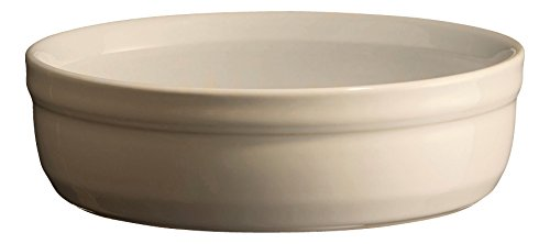Emile Henry Eh954013 Set de 2 Moules /à Cr/ème Br/ûl/ée C/éramique Gris Silex 13 X 13 X 3,5 cm