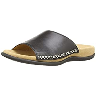 Gabor Shoes 03.705.27 Damen Pantoletten ,Schwarz (schwarz) ,39 EU