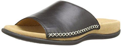 Gabor Shoes 03.705.27 Damen Pantoletten ,Schwarz (schwarz) ,42 EU