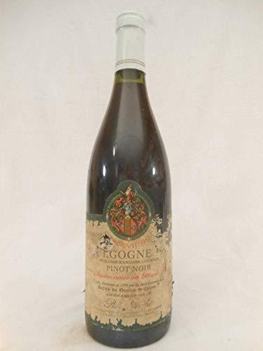 bourgogne pierre andré cuvee gites de France (étiquette usée) rouge 1997 - bourgogne france - une...