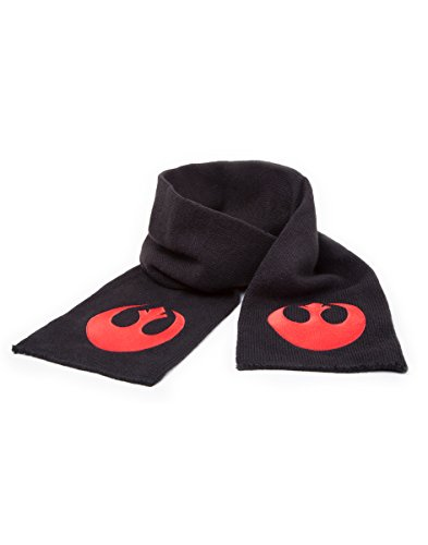 Star Wars Schal Rebel Alliance Logo, Schwarz [Importación Alemana]