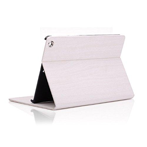 Tablet PC Hüllen Einfarbig Unifarben Maserung Falten Vintage Faux Leder Basic Hüllen