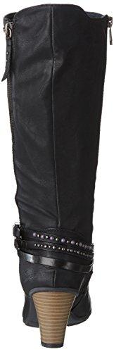 Tom Tailor8591704 - Stivali Donna Nero (Black (nero))