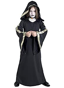 Clown Republic - Disfraz de reina gótica para niña, 82008/08, multicolor