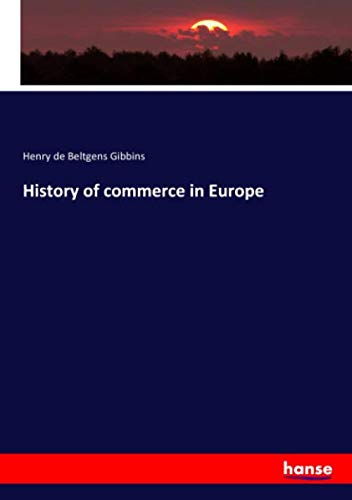 History of commerce in Europe