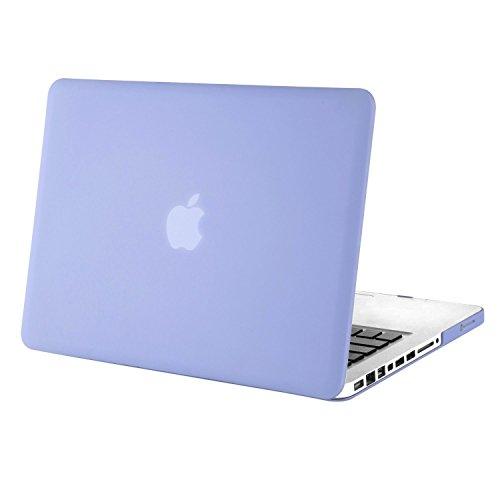 MOSISO MacBook Pro 13 Hülle mit CD-ROM Drive - Ultra Slim Hochwertige Hartschale Tasche Schutzhülle Snap Case für Old MacBook Pro 13 Zoll (A1278, Version Early 2012/2011/2010/2009/2008), Serenity Blau