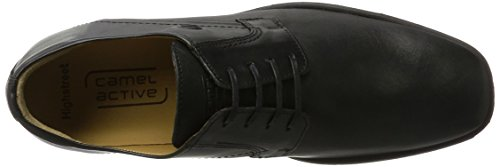 Camel Active HighStreet 20, Derby Homme Noir (Black)