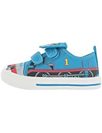 4a4edf868d Thomas and Friends Ferryhill Blue Canvas Trainers Various Sizes