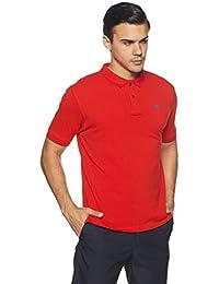 Wrangler Men's Solid Regular Fit Polo