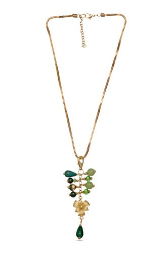 Green Grapes Pendant with chain cum Bag Charm  available at amazon for Rs.149