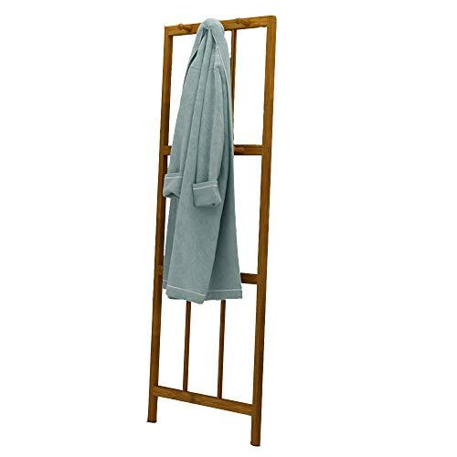 QFFL Porte-manteau d'angle, support mural, porte-manteau en bois massif, étagère, pour le salon de la chambre à coucher, 165x57cm / 64.9x22.2 inch Cintre mural (Couleur : A)