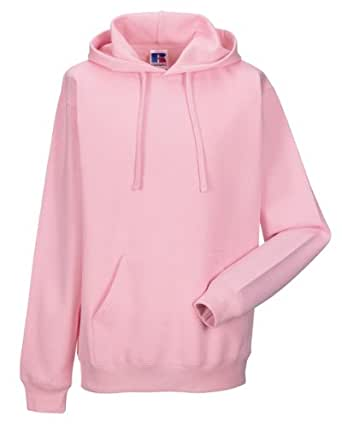 Russell Hooded Sweatshirt Colour=Candy Pink Size=L