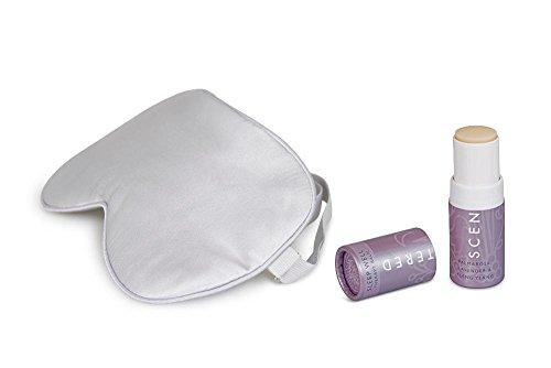 Shea Butter Geschenk-set (Duftendes Aromatherapie-Schlaf-Essentials-Reiseset - Sleep Well Balm Seide Augenmaske Entspannungstherapie Kit)
