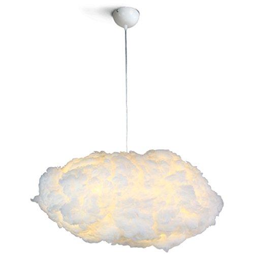 $illuminazione il lampadario di galleggiamento molle delle nuvole bianche romantiche della nuvola bianca romantica creativa moderna ha condotto 110-240v luci interne (dimensioni : 50cm)