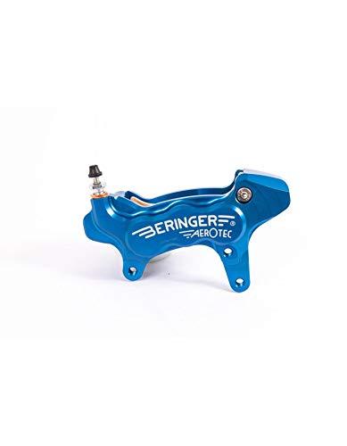 BERINGER Bremssattel axial Links Aerotec 6 Kolben Ø 27 mm blau