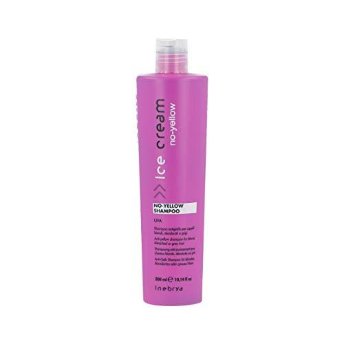 Inebrya Ice Cream No-Yellow Shampoo für blondes oder graues Haar