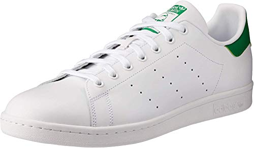 adidas Stan Smith, Chaussures de Gymnastique Homme,Blanc (Ftwrwhite/Core White/Green) , 42 EU