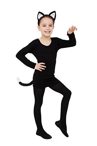 en + Schwanz) Kostüm für Pussy Für katzen Kostüm Outfit Satz Set ()