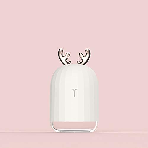 Preisvergleich Produktbild Hanbaili USB-Nebel-Maker Tragbare USB-Aromatherapie with 5V 2W 220ml Gesundheitsversorgung Office
