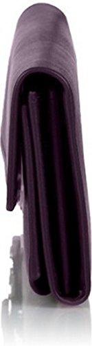 Butterflies Women's Handbag (Purple) (BNS WB0104)