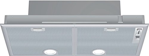 Siemens LB75564 - Campana (Canalizado/Recirculación, 650 m³/h, 59 Db, Incorporado, Halógeno, Plata)