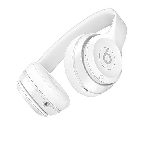 Casque Supra-Auriculaire sansFil Solo3 de Beats- Blanc Verni