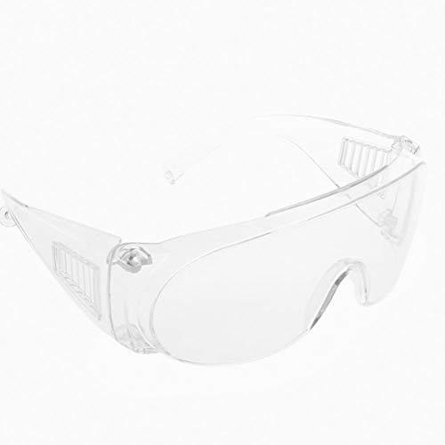 Sicherheit Brille - Vertreter Sicherheit Brille für Arbeit & Sport, Verzerrung Gratis Klar Wraparound Linsen mit Impact & Uv-Schutz