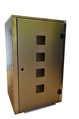 Mülltonnenbox Eleganza Quad für 120 ltr. Tonne