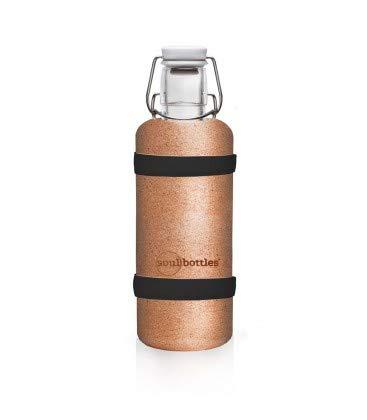 Soulbottle Soulsleeve Flaschen-Bänder, Kork, braun, 0,6 Liter