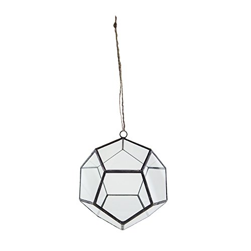 Syndicate Sales Art Deco, Deo-Dodecahedron-Terrarium, 15,2 cm