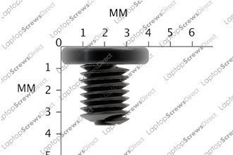 12 Pack of M2 x 3mm Small Laptop Screws Black Zinc Laptop Machine Screw Phill...