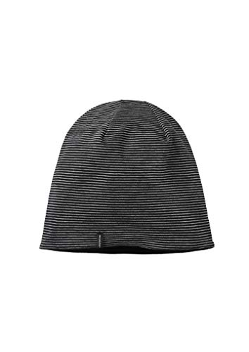 recolution Reversible Beanie #Stripes (OneSize, Black-Grey/Black) Reversible Stripe Beanie