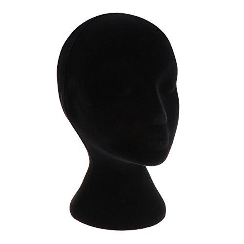 D Dolity Perückenkopf, Perückenhalter Ständer, Schaufensterpuppe Dekokopf Mannequin -