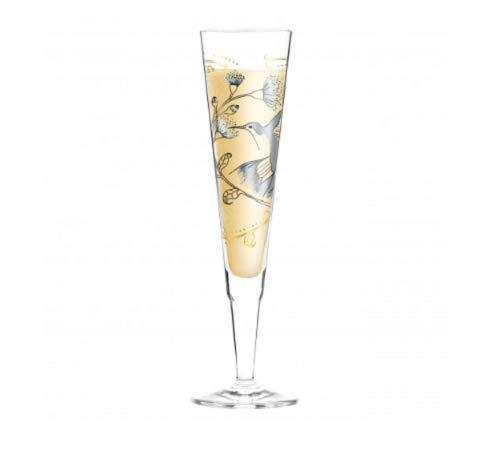 Ritzenhoff 1070231 Champagne Flûte à Champagne en Verre, 7 x 7 x 24 cm, Multicolore