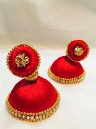 Kalai silk thread jewel set (Black&gold)