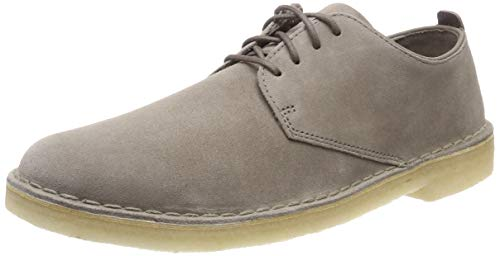 Clarks Originals Desert London, Derby Homme, Bordeaux